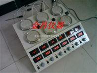 HJ-6B双列六联数显恒温测速磁力搅拌器