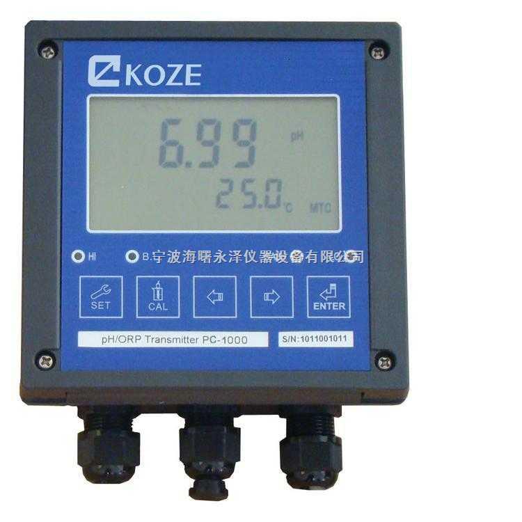 PC-1000工业KOZE三泽在线PH测定仪