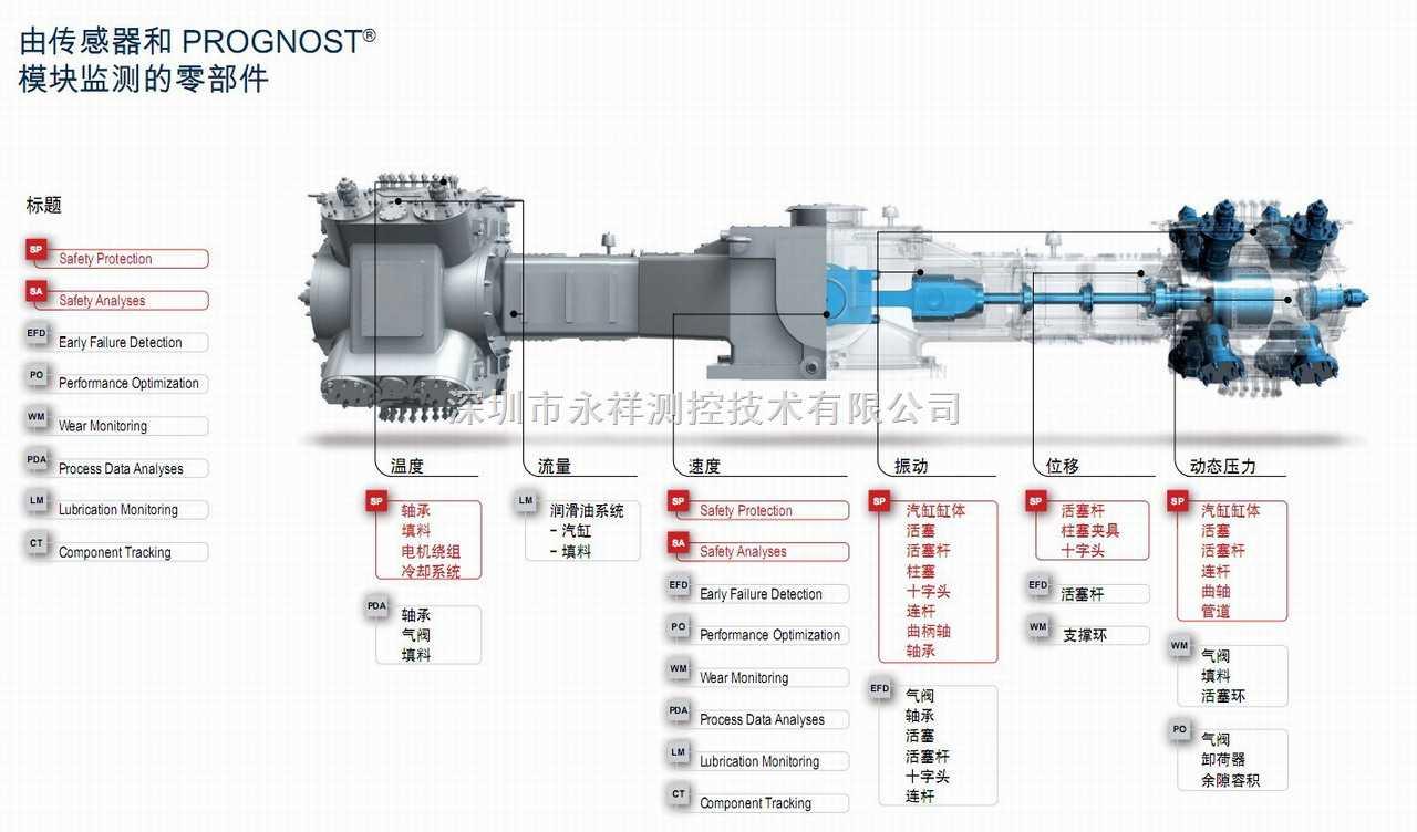 博格诺思(prognost)往复式压缩机状态监测系统图片