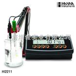 HI2211哈纳HI2211台式酸度计/PH计