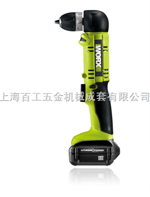 威克士WU188锂电池充电角钻