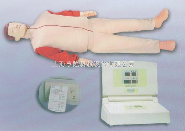 按压吹气橡皮人|高级数显自动电脑心肺复苏模拟人
