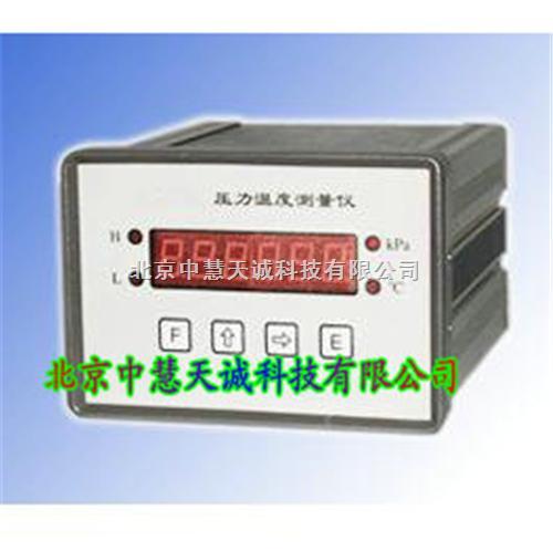 压力温度测量仪/压力真空温度测量仪(电池供电)