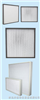 High temperature resistant high efficiency air filter