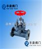 J41F-10VCPVC塑料耐腐蚀截止阀