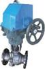 智能电动V型调节球阀HRVV