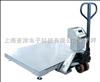 電子移動地磅移動地秤-北京防爆帶輪地秤 朝陽可移動電子地秤