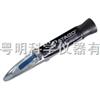 手持折射仪MASTER-T是ATC-1E的继任产品,具有自动温度补偿功能。此规格如测量范围及小